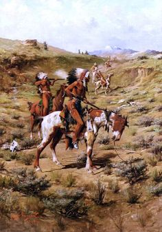 Native American Indian Art - The War Party by Pg Reproductions Native American Paintings, Native American Pictures, Native American Artists, Indian Artwork, Indian Paintings, Oil Paintings, American Indian Wars, American Indians, Eskimo