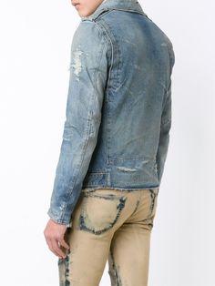 Balmain Jaqueta Jeans - Luisa World - Farfetch.com