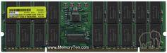 2GB 232pin PC133 CL3 36c 64x8 Registered ECC SDRAM DIMM X7058A-NOB, Qimonda/Gigaram, BZM, GR2GR36S648-