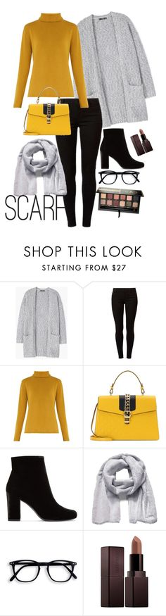 """""""Yey Winter"""" by echarra ❤ liked on Polyvore featuring MANGO, Dorothy Perkins, Chloé, Gucci, Yves Saint Laurent, The North Face, Laura Mercier and Anastasia Beverly Hills"""