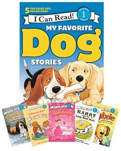 My Favorite Dog Stories: Learning to Read Box Set (I Can Read Level 1)