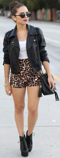 Schott's Jacket... almost (w/ Leopard)