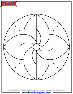 mandalas for kids easy mandala coloring page for children - Simple Mandala Coloring Pages Kid