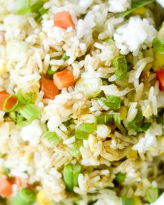 Classic Fried Rice - lightened up!