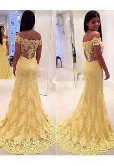 MARSEN 2018 Off Shoulder V Neck Lace Applique Sheath Evening Dress Modest Bridal Wedding Gown SW07044