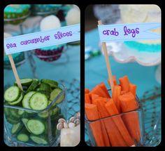 Ariel party snacks