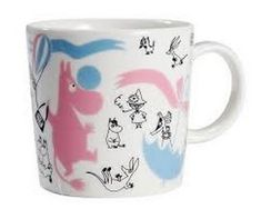 Arabia Finland Moomin Mug 'Stockmann 150 Edited Collection nro Moomin Mugs, Home Goods Furniture, Tove Jansson, Pastel Candy, Moomin Valley, Christmas Stocking Fillers, Fairy Godmother, Dear Santa, Candy Colors