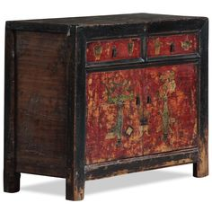 Asian furniture painted