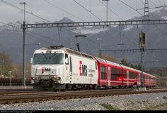 RailPictures.Net Photo: 643 RhB - Rhätische Bahn Ge 4/4 III at Untervaz-Trimmis, Switzerland by Georg Trüb