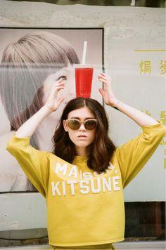 maison kitsune s/s 14 lookbook