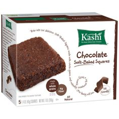 I'm learning all about Kashi Chocolate Soft Baked Squares at @Influenster!