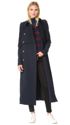 camilla and marc Classic Tailoring Trench Coat