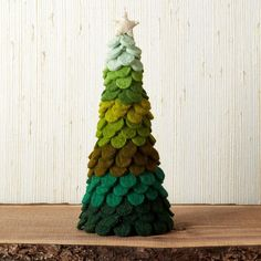 Create your own winter wonderland with our festive wool felt holiday decoration trees. A charming way to spruce your holiday home. The Company Store Cone Christmas Trees, Felt Christmas Decorations, Christmas Makes, Christmas Time, Christmas Crafts, Christmas Ornaments, Holiday Decor, Cone Trees, Fall Decorations
