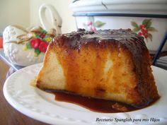 Recetario Spanglish para mis hijos: Budín de pan (especiado)