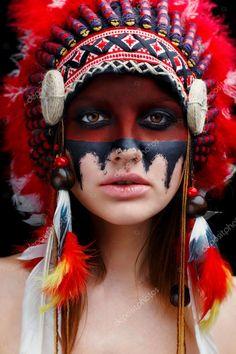 Sex-Milf indianisch Blutelf bläserei