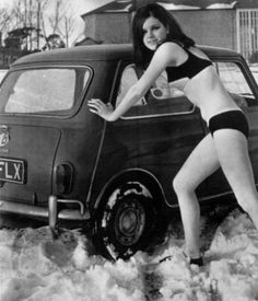 vintage everyday: Vintage Ladies of Car Advertising