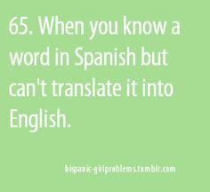 But let's be honest... Its because English words do not have the same meaning and emotion behind them.