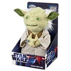 Star Wars 11 Inch Talking And Moving Doll - Yoda
