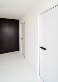Interior french doors add a beautiful style and elegance to any room in your home. Garage Door Styles, Wood Garage Doors, Garage Door Design, Door Design Interior, Interior Barn Doors, Modern Interior, Interior Paint, Aluminium Glass Door, Invisible Doors