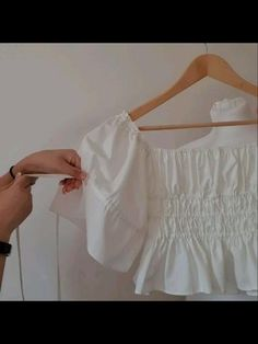 Crochet Projects, Sewing Projects, Baby Clothes Sizes, Pattern Cutting, Off Shoulder Tops, Sewing Techniques, Handmade Clothes, Slow Fashion, Minimalist Fashion