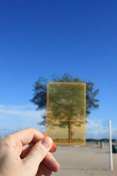 DesignWorks - 黄金比を簡単にチェックできるシート「GOLDEN SECTION FINDER」