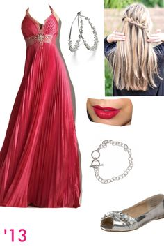 burgundy prom dress combo with black high heel shoes