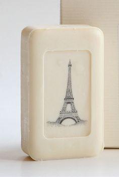 Eiffel Tower soap