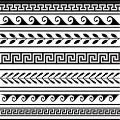 Hellenic pattern.