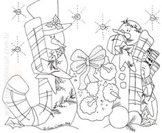 Pattern Coloring Pages, Coloring Book Pages, Christmas Canvas, Christmas Art, Christmas Signs, Christmas Colors, Pictures To Paint, Painting Pictures, Tole Painting Patterns