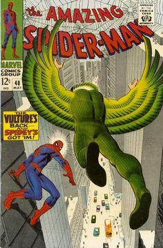 Amazing Spider-Man # 48 by John Romita