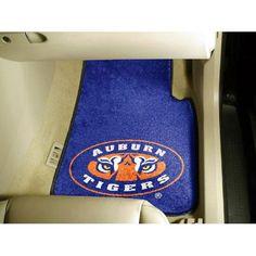 Auburn Tigers NCAA Car Floor Mats (2 Front) Tiger Eye