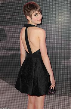 Classic For Cannes: Robin Wright Opts For An Elegant Look In Sleeveless  Black Dress At Premiere Of The Congress