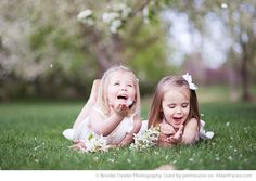 Spring Photo Session Ideas - Portrait Photography by Brooke Trexler Photography via iHeartFaces