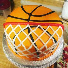 Basketball cake I did