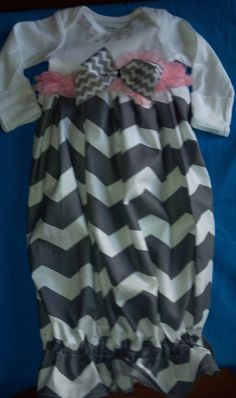 Custom size Boutique Baby layette wholesale gown by M2MBoutique, $10.99