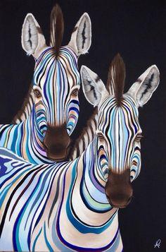 animal diamond painting kits for adults: Arts, Crafts & Sewing Zebra Painting, Zebra Art, Animal Sketches, Animal Drawings, Colorful Animals, Tier Fotos, Arte Pop, Wildlife Art, Horse Art