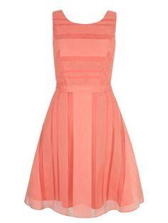Yumi Stripe Organza Party Dress. | dresslover.co.uk
