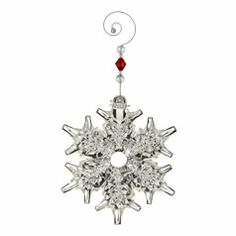 Waterford 2013 Annual Snowcrystal Pierced Ornament - come by Waterford Wedgwood Royal Doulton, San Marcos, TX or call 1-800-203-4540