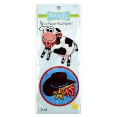 Cowbaby Appliques | Babyville Boutique™ Stuff for diapers
