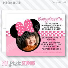 105 best party invitations images on pinterest in 2018 kids pink pickle studios offers birthday party invitations and party decorations personalized for kids and children of all ages filmwisefo