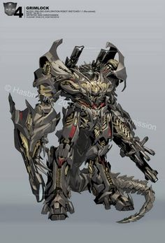 Transformers News: Additional Ken Christiansen Age of Extinction Concept Art, Will Be Appearing at Capitol City Comic