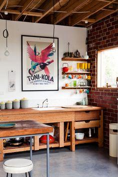 The Coburg home of Emilio Fuscaldo and Anna Krien. Living room details…