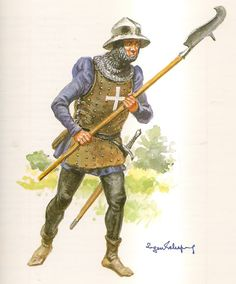 French man-at-arms second half of XVth century.