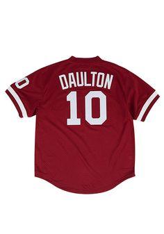 b54853f18 Darren Daulton Philadelphia Phillies Mens Cooperstown Jersey - Maroon -  5650113