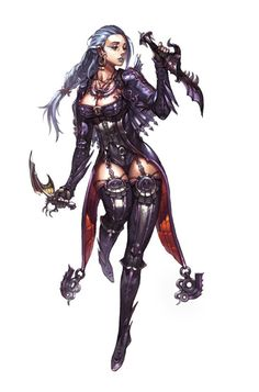 f Rogue Assassin Leather Daggers poison midlvl Character concept art Picture fantasy, character, girl, woman . Female Comic Characters, Fantasy Characters, Character Concept, Character Art, Character Design, Art Nouveau Disney, Digital Art Anime, Digital Art Gallery, Star Wars Concept Art