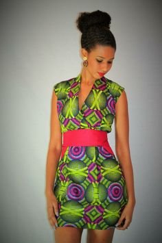 Dress by Malaika Designs....lovely ~African Prints, African women dresses, African fashion styles, african clothing