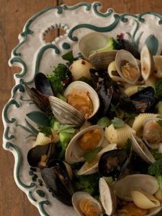 Celebrate Italian seafood with Giada's simple recipe for Conchiglie with Clams and Mussels.