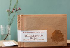 Completely in love with sewn paper bag envelopes! All you need is a flat paper bag and a sewing machine! Fabulous!