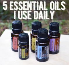 5 Essential Oils I Use Daily and how to use them 5 Essential Oils I Use Daily, Wellness Mama Blog