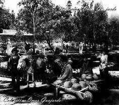 1932. Parque Juárez. Glorieta Reforma.